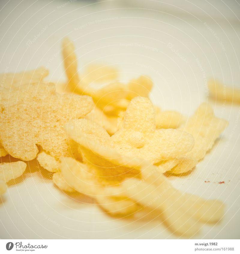 Kann süchtig machen Ernährung hell lecker Backwaren Haufen Sucht unordentlich Snack ungesund Abhängigkeit Kalorie Mahlzeit Kartoffelchips Knabbereien