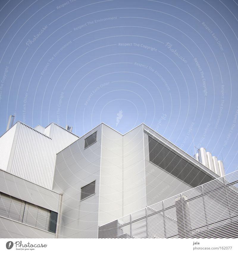 Laboratorium Gebäude Stahl Metall komplex Chemie Chemieindustrie Physik Biologie Pharmazie Experiment Qualitätskontrolle Wissenschaften Industrie