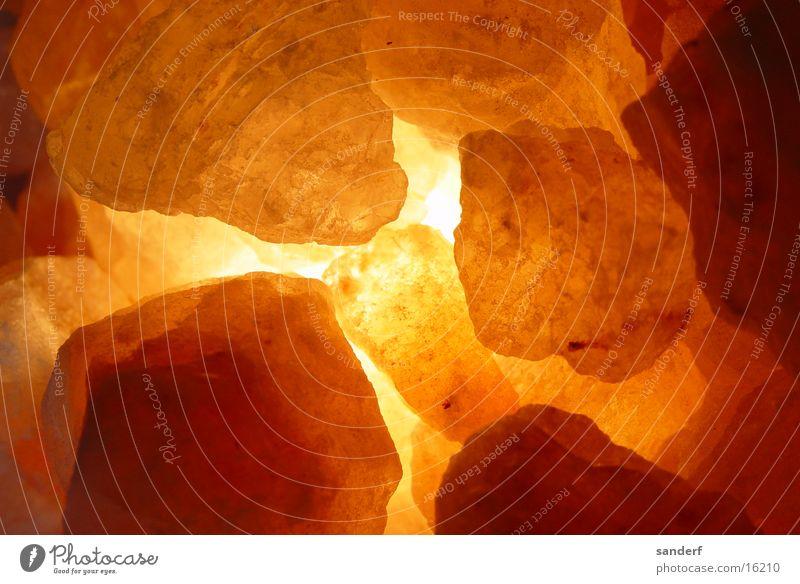 wundersteine Edelstein gelb rot Makroaufnahme Nahaufnahme Stein Mineralien Heilsteine orange