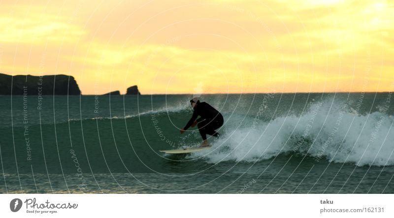 SUNRISE SURF III Meer Wellen Surfen Neuseeland Funsport