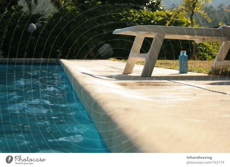 summersun Wasser Sommer Erholung Wiese Garten Park Schwimmbad Sonnenbad Liegestuhl