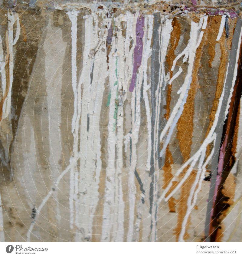 Laufend laufende Farbnasen Farbe Farbstoff Kloster klecksen Anstreicher Maler Lack streichen gestrichen trocken mehrfarbig Verfall brechen