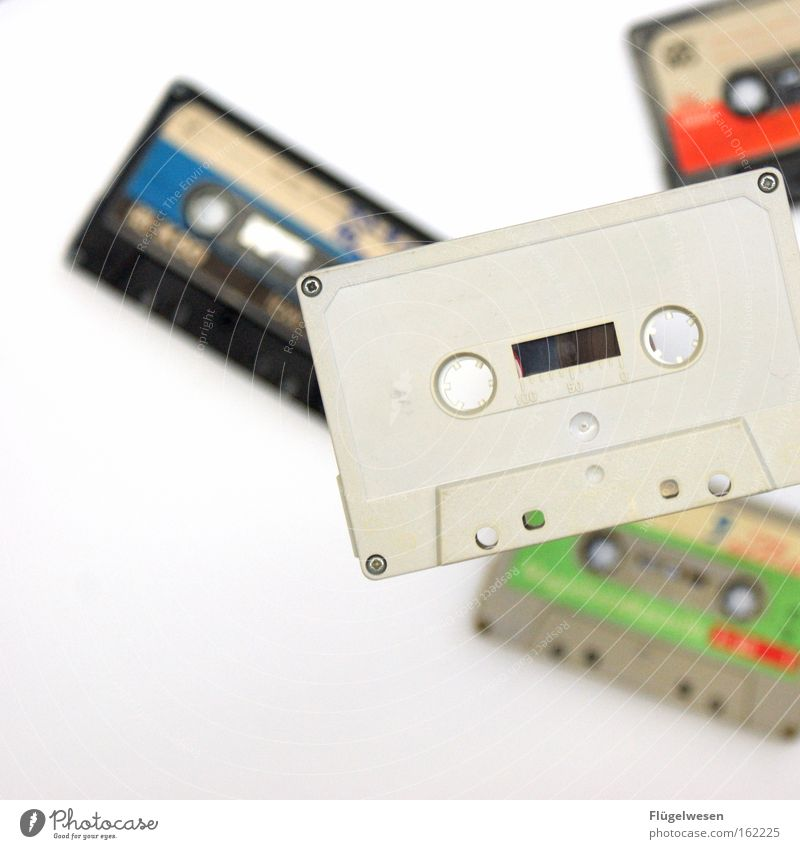 Alles Case Gefühle beobachten Dinge Medien Tonband Musikkassette vorwärts rückwärts Windung Schwebebahn Magnet Tontechnik Spule Tonung Ghettoblaster magnetisch