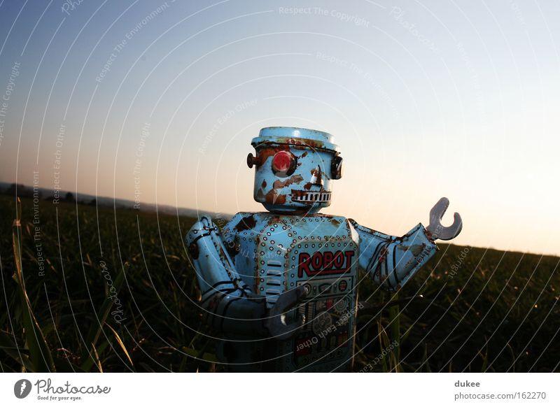 hello my robot Roboter retro Spielzeug Achtziger Jahre Kreativität Elektronik Maschine old-school Freizeit & Hobby Elektrisches Gerät Technik & Technologie