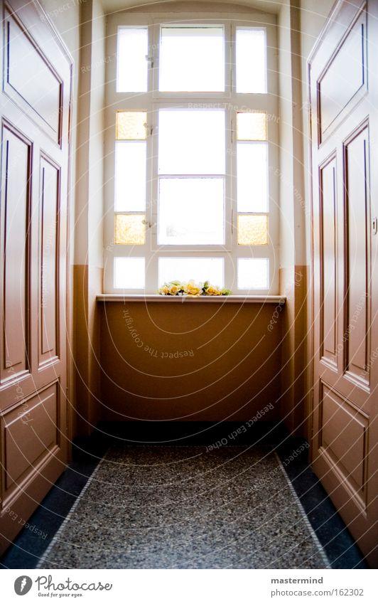 Flur Licht Treppe Glas historisch Altbau Treppenhaus Tanzfläche Hochformat Doors Sun