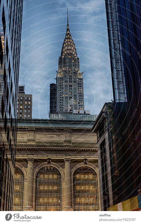 Around the World: New York City Ferien & Urlaub & Reisen Tourismus Wahrzeichen entdecken around the world Reisefotografie Manhattan Chrysler Building