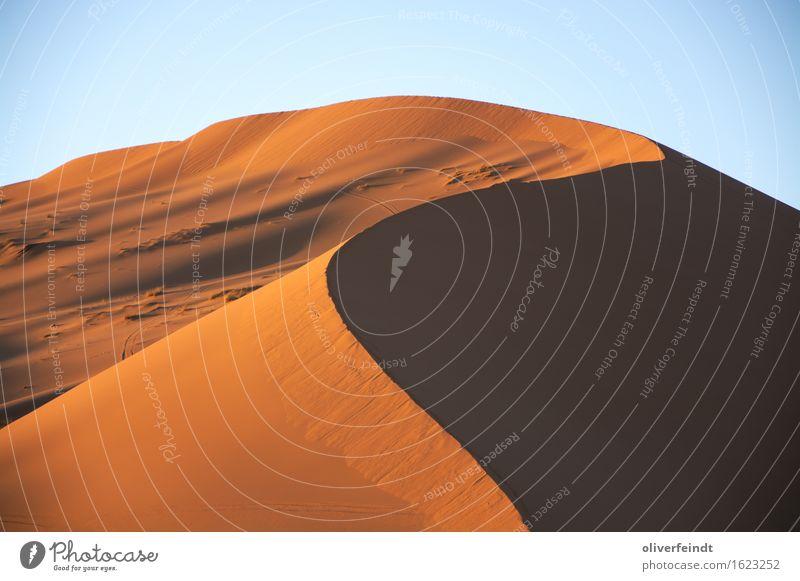 Sahara II Himmel Natur schön Landschaft Erholung ruhig Ferne Umwelt Freiheit Sand Erde Ausflug ästhetisch hoch groß Schönes Wetter