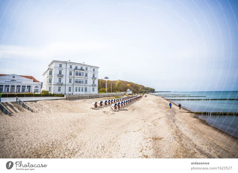 Heiligendamm Landschaft Wasser Strand Ostsee Zufriedenheit Romantik achtsam Verlässlichkeit Gelassenheit ruhig bescheiden Mecklenburg-Vorpommern Deutschland
