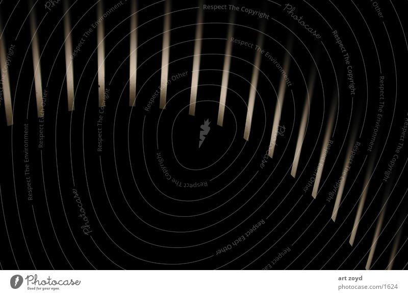 Lichtschein dunkel Fototechnik Stuktur Schatten