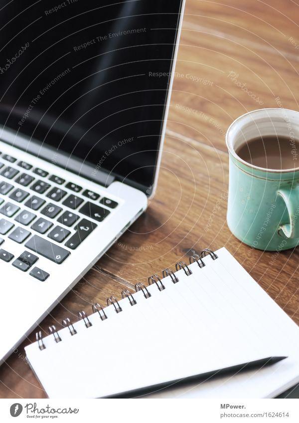 work in process Büro Technik & Technologie Telekommunikation Computer Finger berühren Kaffee schreiben Internet Informationstechnologie Notebook Tastatur digital online Hilfesuchend Bildschirm