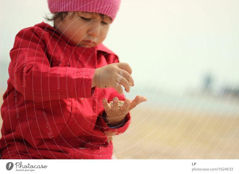 Mensch Kind schön Freude Leben Gefühle Lifestyle Familie & Verwandtschaft Spielen Schule Stimmung Sand Kindheit Fröhlichkeit Baby Bekleidung