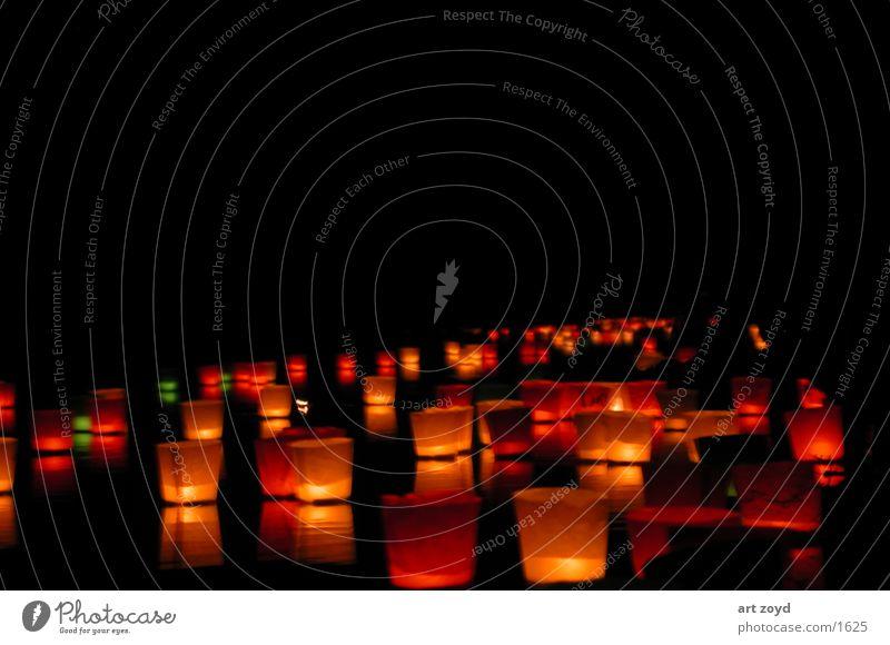 Lichterfest Sommer Kerze Wunsch Freizeit & Hobby