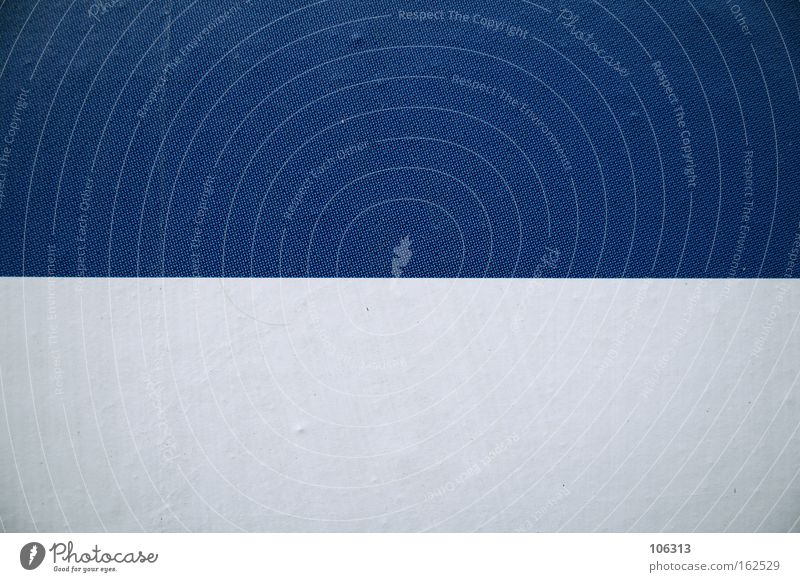 Fotonummer 117160 blau weiß Strukturen & Formen zweiteilig Linie Trennung 2 Farbe Grafik u. Illustration graphisch
