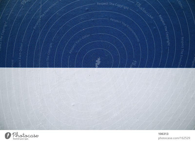 Fotonummer 117160 weiß blau Farbe Linie 2 Grafik u. Illustration Trennung graphisch zweiteilig