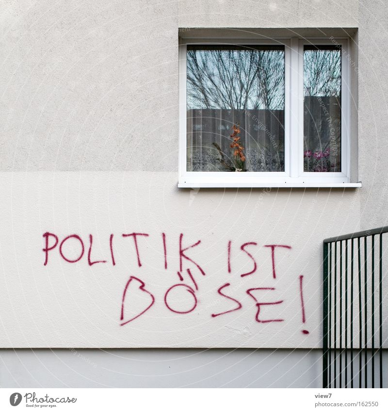 Weltformel Freude Wand Fenster Graffiti Dose dumm Stadtteil Warnhinweis Witz Rätsel Ghetto Humor Vandalismus Warnschild Schmiererei