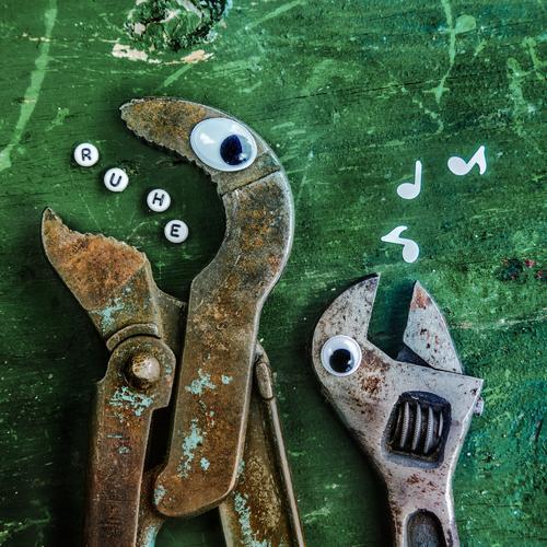 Ruhe! grün Arbeit & Erwerbstätigkeit Baustelle Beruf Arbeitsplatz Handwerker