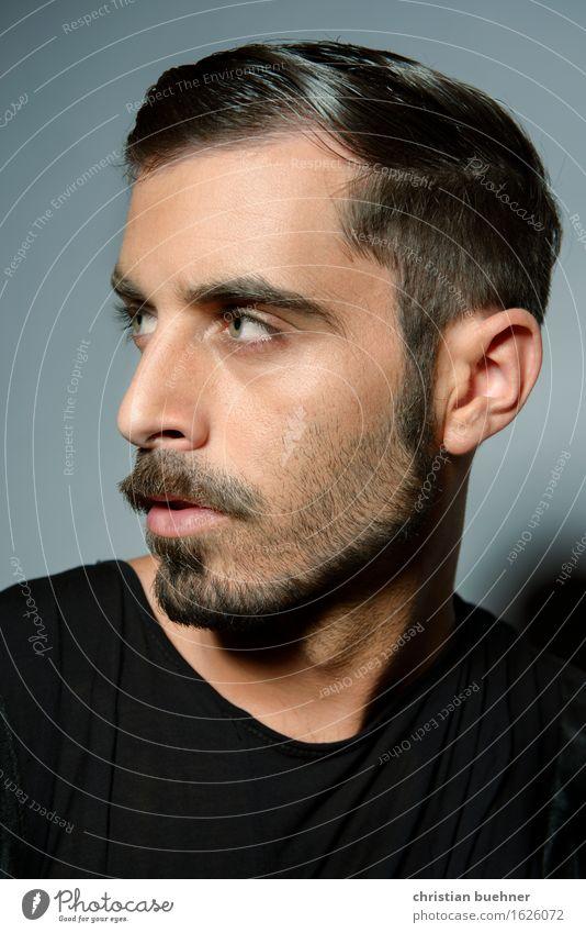 model Mensch Jugendliche schön Junger Mann Erotik 18-30 Jahre Gesicht Erwachsene Auge Lifestyle Stil Mode Haare & Frisuren elegant ästhetisch Erfolg