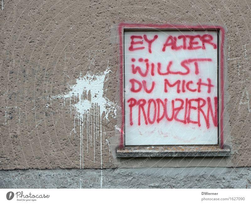 EY ALTER Stadt Haus Fenster Wand Graffiti Stil Mauer Kunst Fassade Design Häusliches Leben Schilder & Markierungen Schriftzeichen Hinweisschild geschlossen