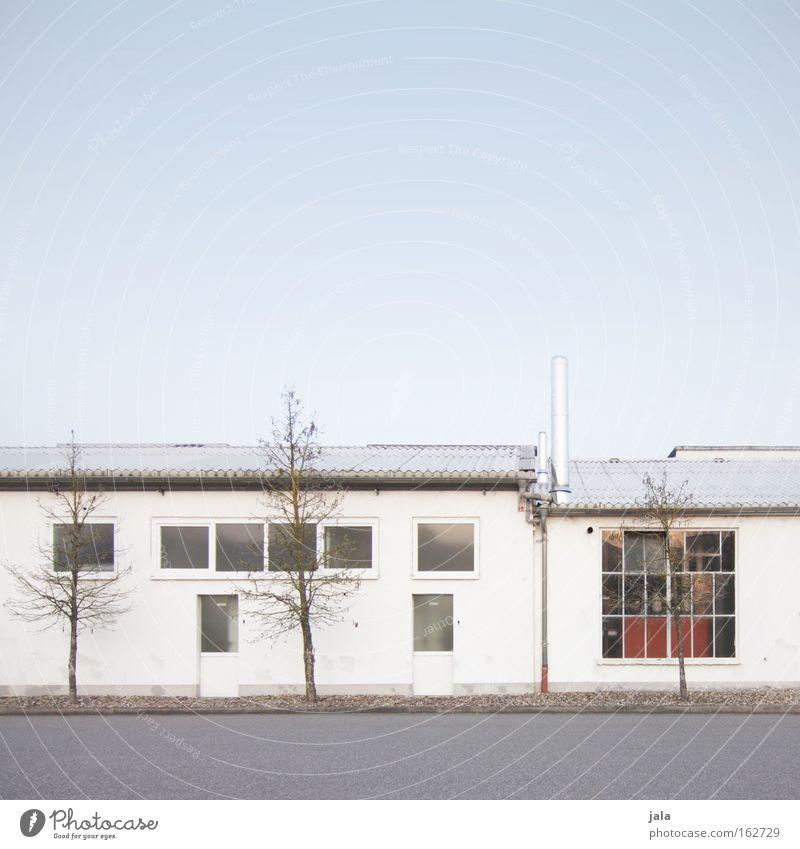 Gewerbepark II weiß Fenster Architektur Gebäude Industrie Unternehmen Firmengebäude Vorteil nützlich Infrastruktur Gewerbegebiet