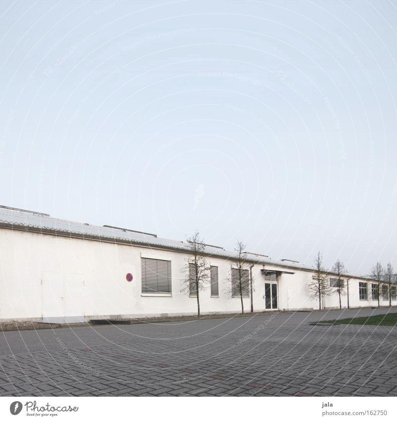 Gewerbepark III weiß Baum Fenster Architektur Gebäude Industrie Handwerk Unternehmen Firmengebäude Vorteil nützlich Infrastruktur Gewerbegebiet