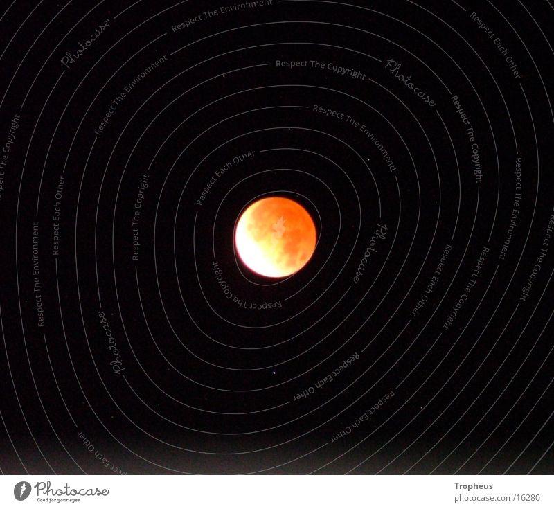 Mond Himmel Stern Mondfinsternis