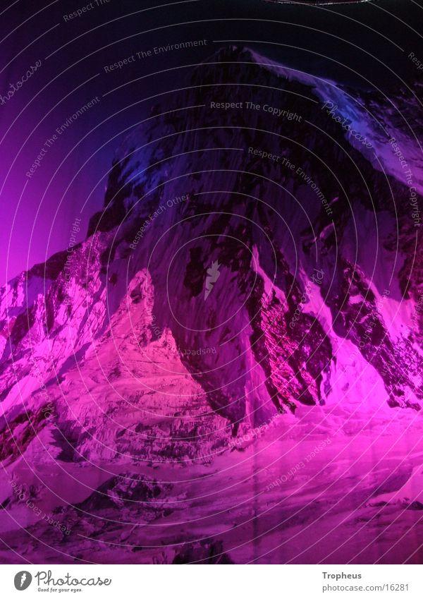 Mt. Everest Berge u. Gebirge Beleuchtung Gipfel Ausstellung