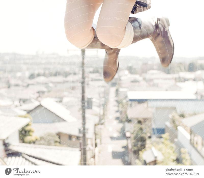 weiß Luft Filmindustrie Japan Schönes Wetter Asien Tokyo Stimmungsbild