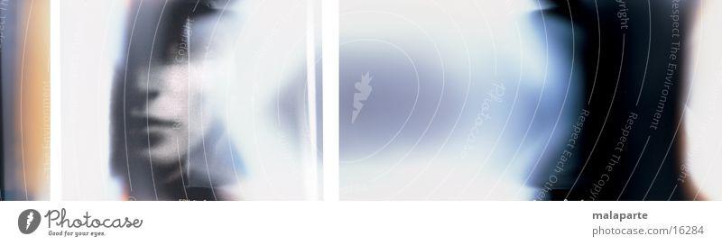 Endstation Gesicht groß mystisch Panorama (Bildformat) Fototechnik