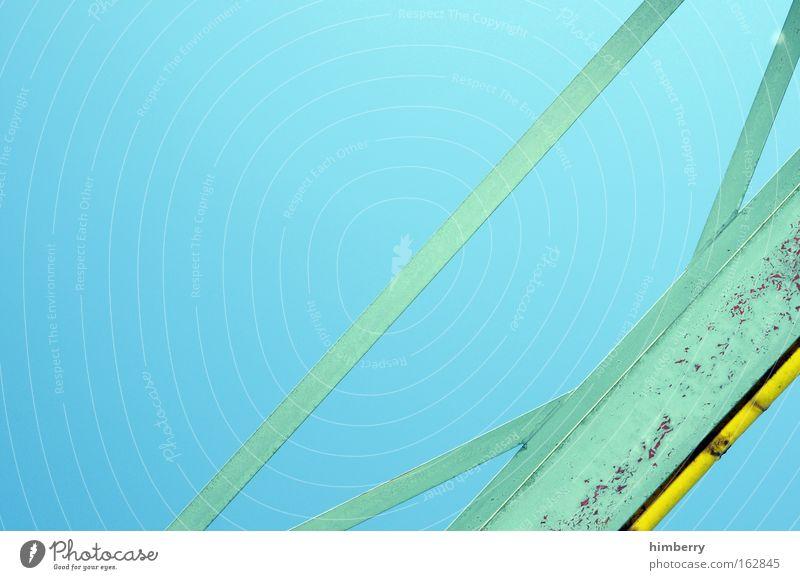 steel beam Farbfoto mehrfarbig Außenaufnahme Detailaufnahme abstrakt Strukturen & Formen Menschenleer Textfreiraum links Textfreiraum oben Hintergrund neutral
