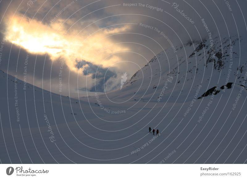 Schneewanderung Ferien & Urlaub & Reisen Berge u. Gebirge Norwegen Gelände