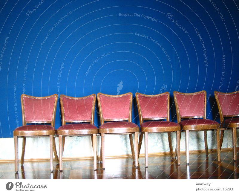 fünf freunde Wand sitzen Stuhl Dinge 5 Parkett nobel Polster