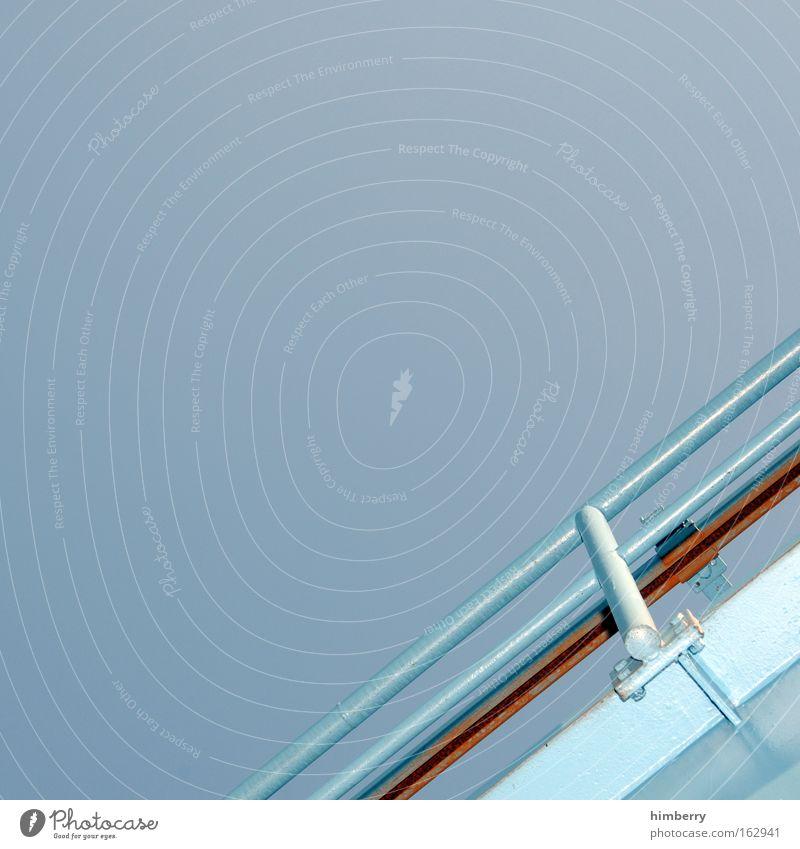 industrie trend kalt oben hell Kunst Design Industrie Baustelle Technik & Technologie Industriefotografie Bauwerk Wissenschaften Geländer Balkon Stahl Rost