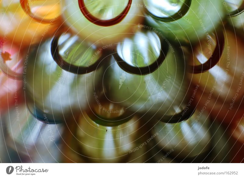 bunte Kreise Farbe mehrfarbig Hintergrundbild obskur Halm künstlich