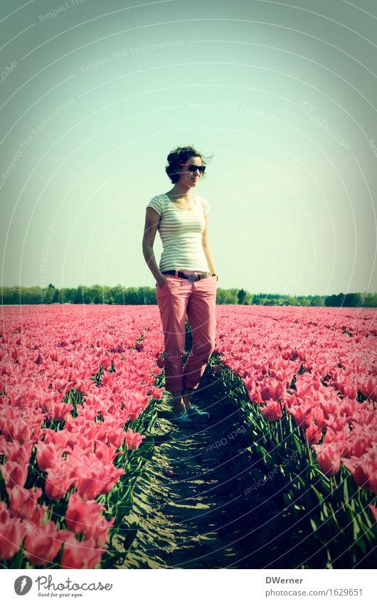Frau Antje aus Holland II elegant Design schön Junge Frau Jugendliche Körper 1 Mensch 18-30 Jahre Erwachsene Umwelt Natur Pflanze Himmel Sonne Schönes Wetter