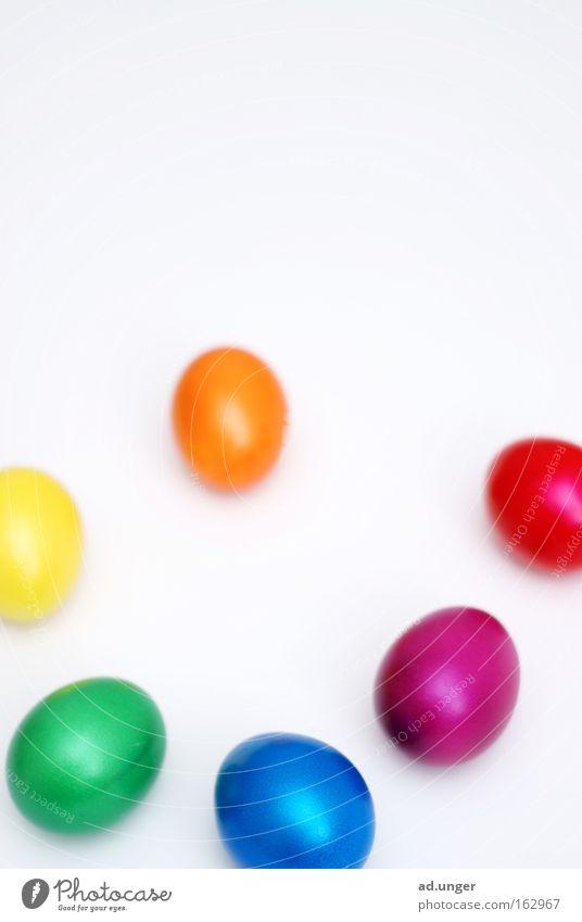 Osterlehre Ostern Ei mehrfarbig Osterei Farbton Farbenwelt