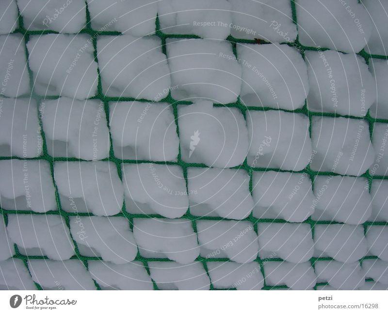 Schneefänger weiß grün Graffiti Netz Freizeit & Hobby fangen Quadrat Absicherung