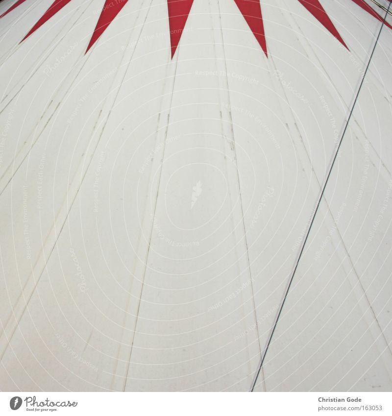 Circus Zirkus Zelt Zirkuszelt Abdeckung weiß rot Bochum Dach Manege Show Clown Architektur Freizeit & Hobby Dinge