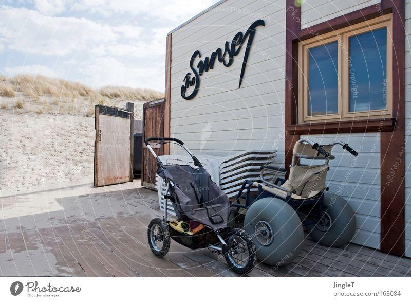Schieberbande Formel 1 Strand Sportwagen Rollstuhl Himmel Ameland Moral Vergänglichkeit Küste Die Renten sind sicher Treffen der Giganten