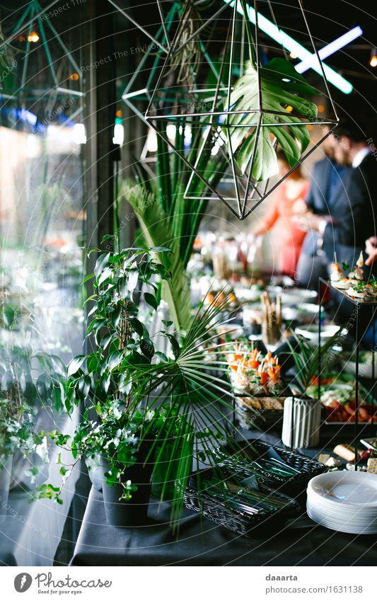 Snack-Tisch Natur Pflanze Blume Haus Freude Leben Gras Stil Lifestyle Gesundheit Freiheit Feste & Feiern Lebensmittel Stimmung Design Wohnung