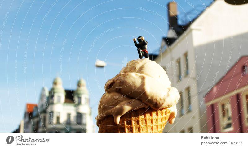 ice cream ninja Himmel Stadt schön Sommer Freude Haus Kunst Speiseeis Coolness Wunsch Klettern Spielzeug Süßwaren obskur genießen Bremen