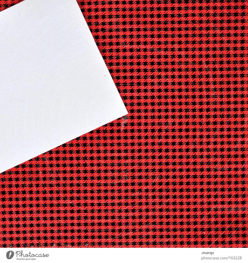 Notiz weiß rot schwarz Arbeit & Erwerbstätigkeit Papier Kommunizieren schreiben Information Konzentration Kreativität Idee Zettel Erinnerung Weisheit Mitteilung