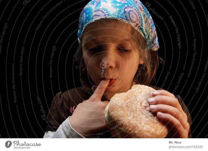 Fastenzeit Kind schön Ernährung Kochen & Garen & Backen Essen Lebensmittel Finger Kuchen lecker Süßwaren Versuch Backwaren Zucker ungesund Kalorie