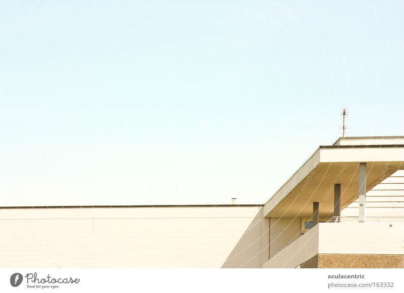 Eckek Sommer Haus Architektur Schulgebäude Kuh Stuttgart Rind