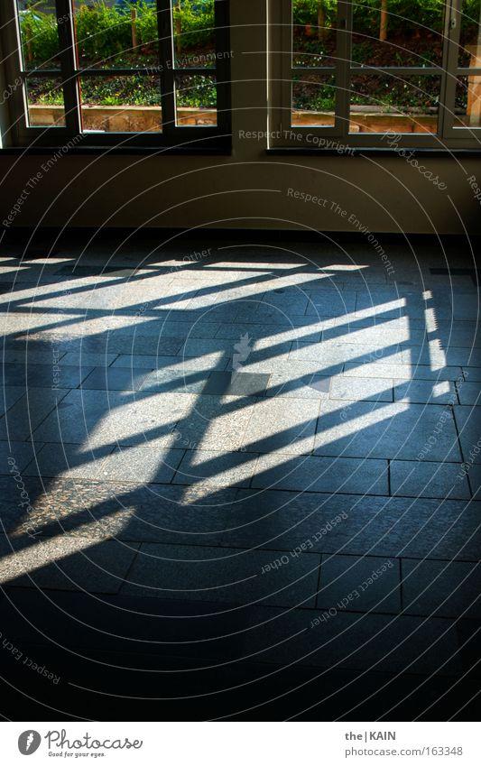 Aus den Angeln gehoben Fenster Bodenbelag Licht Schatten Wand Fensterrahmen Glas Fensterscheibe Glasscheibe Raum Reflexion & Spiegelung Gastronomie Dresden