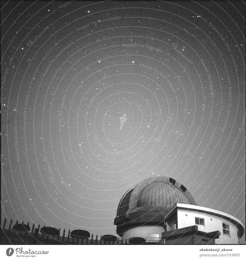 Himmel Winter schwarz Stern Nachthimmel Quadrat Japan Sternenhimmel Himmelskörper & Weltall