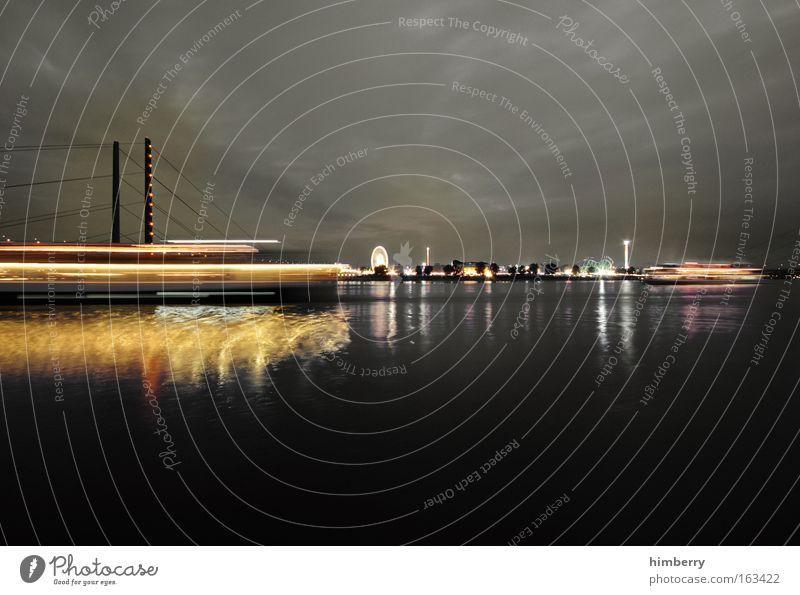schwarzfahrt Stadt Freude Stil Wasserfahrzeug Stimmung Design groß Ausflug Lifestyle Brücke Energiewirtschaft Güterverkehr & Logistik Tourismus Fluss