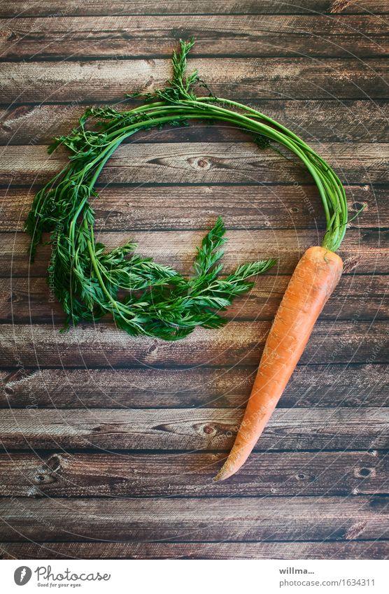 möhrchen Möhre Gemüse Lebensmittel Bioprodukte Vegetarische Ernährung Gesunde Ernährung Gesundheit Möhrenkraut Rohkost Diät Farbfoto Innenaufnahme