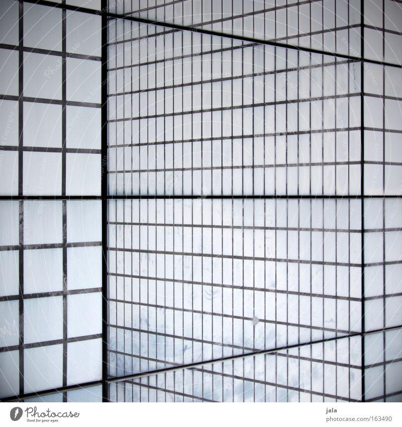 illusion of perception weiß schwarz Linie Architektur Schilder & Markierungen Quadrat Muster Würfel wahrnehmen Schwarzweißfoto