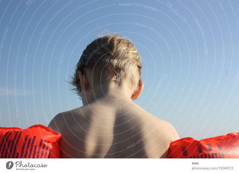 badewetter !!! Mensch Kind Ferien & Urlaub & Reisen Sommer Sonne Meer Strand Ferne Leben Junge Gesundheit Haare & Frisuren Schwimmen & Baden Zufriedenheit