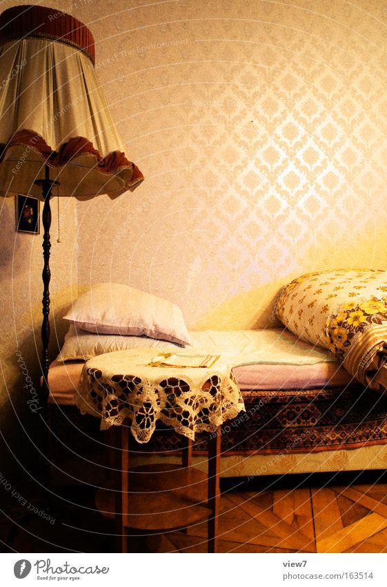 Lebensraum schön rot Haus gelb Stil Lampe braun Raum Wohnung elegant verrückt ästhetisch natürlich Lifestyle Innenarchitektur retro